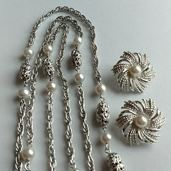 38f591c33 Sarah Coventry Jewelry | Vintage Sara Coventry Necklace Earrings Set ...